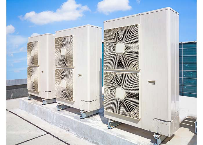 air conditioner installation for commercial property in Austin