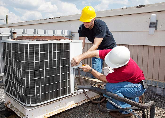 austin hvac contractors doing ac repair